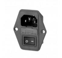 AC Socket+Fuse Holder+Switch