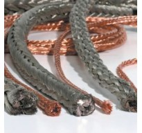 Highly flexible round braided copper cables